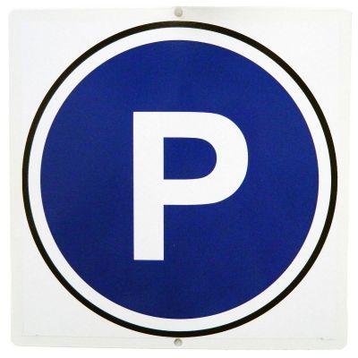 """Дачный знак 009 - Предупреждающий знак """"Парковка"""""""
