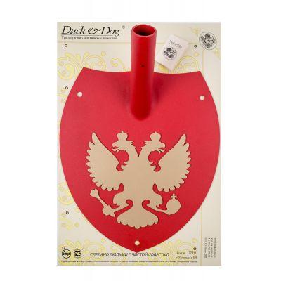 """Кронштейн настенный для флага """"Элегант"""" Орел, одинарный, щит красный/орел золото"""