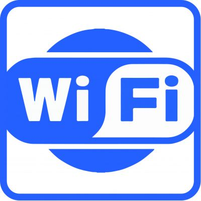 "Наклейка маленькая "" Wi Fi"" №15(10х10 см)"