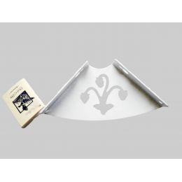 Консоль для полки Ягода (глубина 100 мм) белая