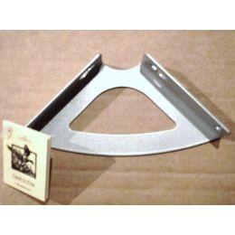 Консоль для полки Классическая (глубина 100 мм) металлик