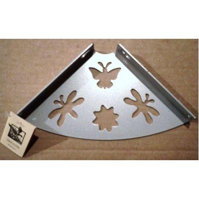 Консоль для полки 150 бабочка металлик