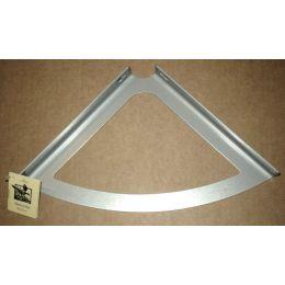Консоль для полки Классическая (глубина 150 мм) Металлик