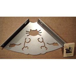 Консоль для полки Кот (глубина 150 мм) металлик