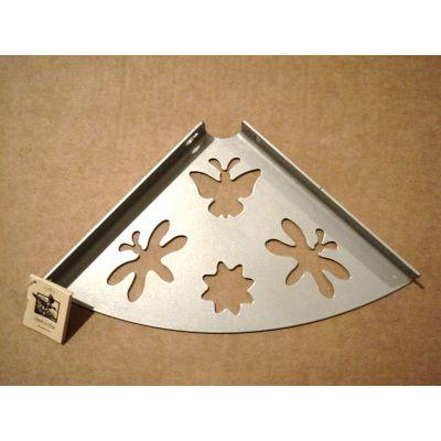 Консоль для полки 200 бабочка металлик