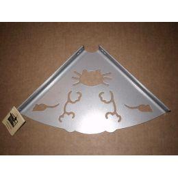 Консоль для полки Кот (глубина 200 мм) металлик