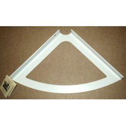 Консоль для полки Классическая (глубина 200 мм) Белая