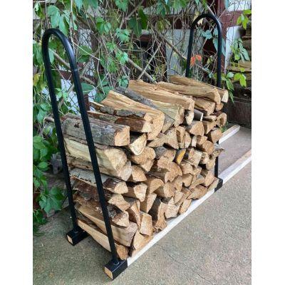 Дровница для дома или дачи в стиле Лофт, стелаж для хранения дров