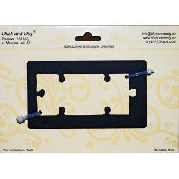Номерок -Рамка для двух номерков пазлов