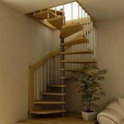 Как сделать винтовую лестницу самому?