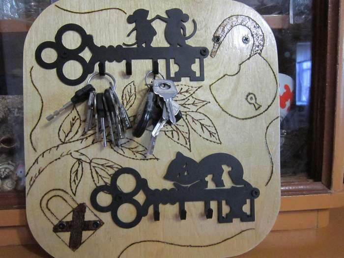 ключницы мышки и кошки