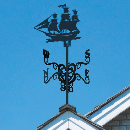 флюгер на крыше корабль