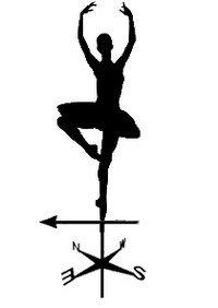 эскиз флюгера балерины