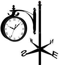 флюгер часы эскиз