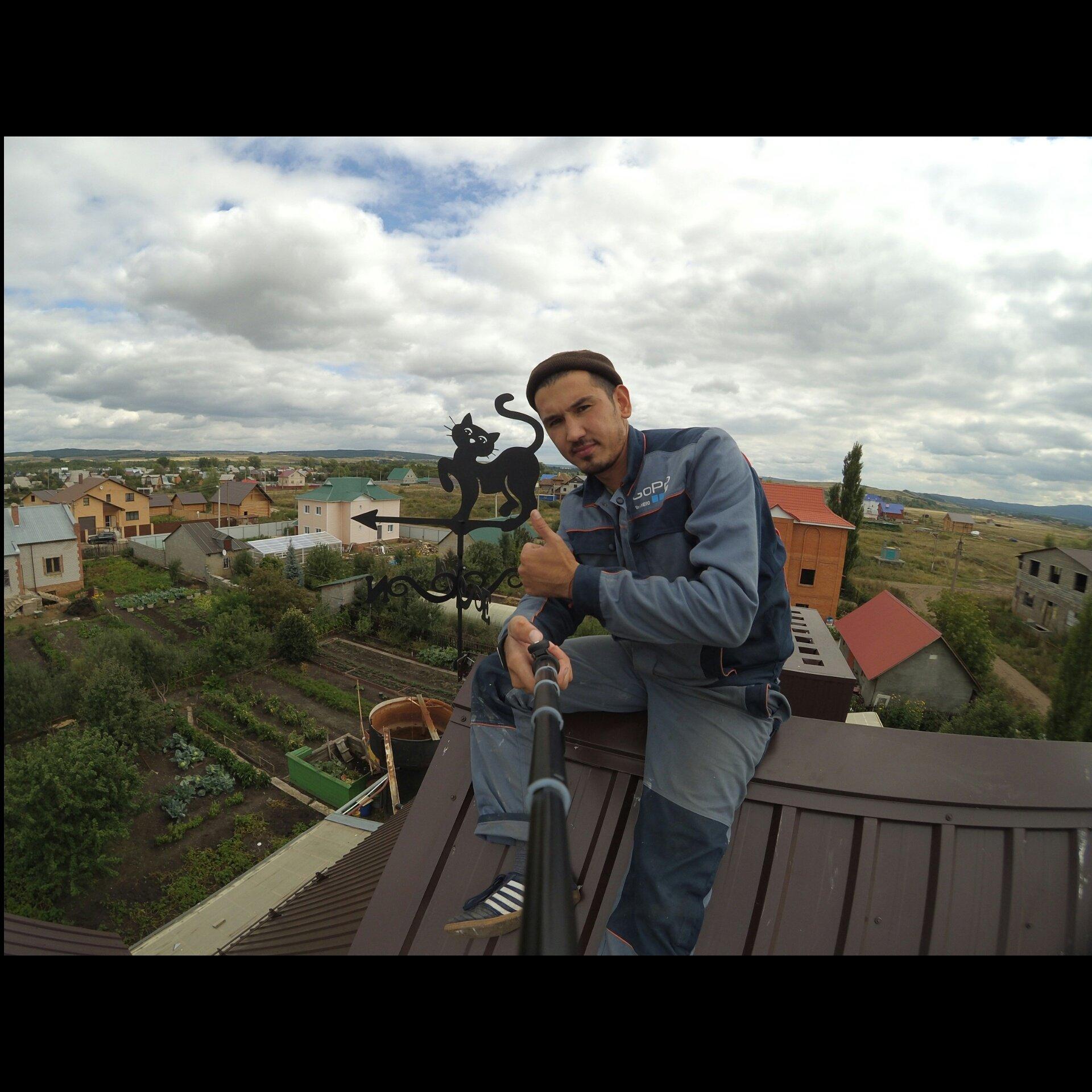 фото флюгеров на крыше